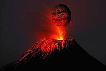 Soñar con Erupción