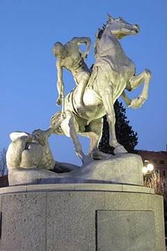 Soñar con Estatua