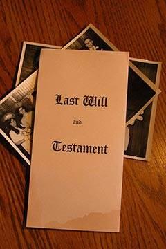 Soñar con Testamento